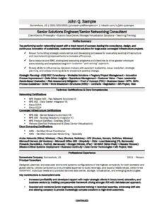 A resume tailored for someone applying for an Information Technology (IT) job.