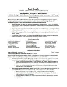 A customized resume for a sales & marketing position.